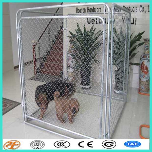 removable chain link european style 5'x 10' pannel kennel