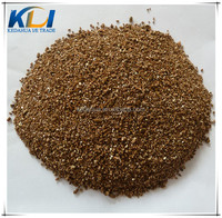 1-3mm Golden exfoliated vermiculite for horticulture