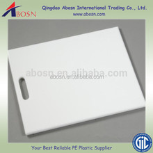 Round Kitchen chopping blocks plastic cutting board/plastic chopping board/pvc/hdpe/pp cutting sheet