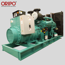 Three Phase Factory Used 750kva Open type Diesel Generator Set