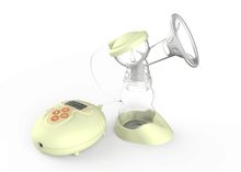 2017 New Arrival LED Electric Breast Milk nipple Pump for Sale