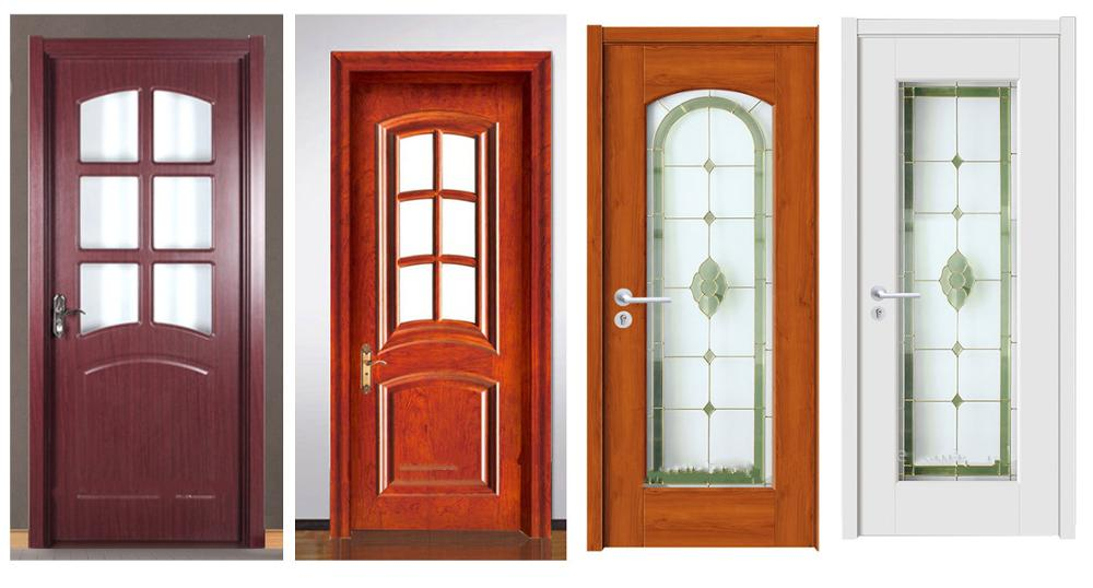 cheap wooden doors glass prices with high quality teak wood doors glass
