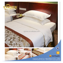 Whoesale 250TC 300TC 400TC Hotel Collection Egyptian Cotton Bed Sheet