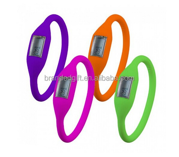 5 ATM Waterproof Digital Silicone Sport Wrist Watches