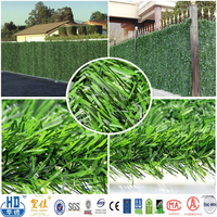 Latex backing artificial grass brush