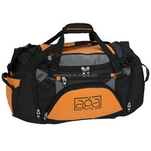 Made in China duffle gym bag, travel Fitness Bag With Shoe Compartment