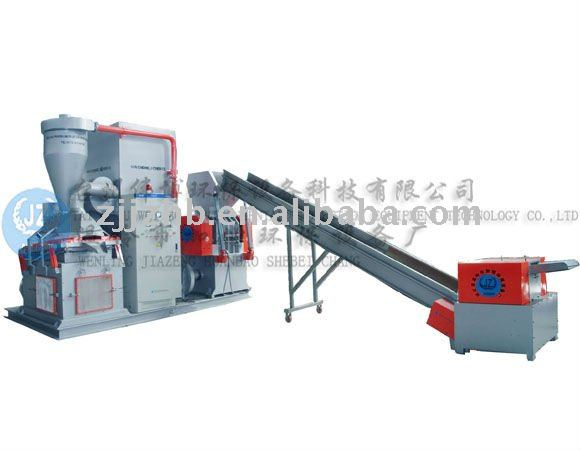 JZ-DX800 Plastic recycling and mixed wire recycling machine