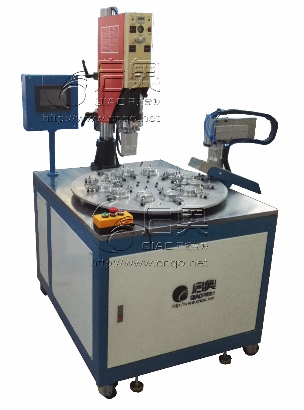 Multi position automatic disc ultrasonic welding machine