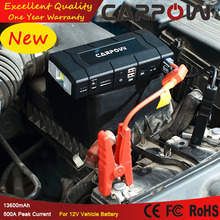 Lithium Hot selling MultiFunction emergency auto MINI portable car battery Jump Starter with air compressor