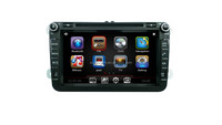 "Car audio DVD player GPS navigation for VW Glof 5\Golf 6\Tiguan\Passat B6 with 8"" HD touch screen DJ8015"