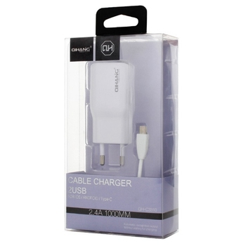 High Quality US EU UK Plug Portable Cell Phone Charger Travel Wall Charger USB Charger