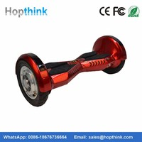CE ROHS Certificated self balance scooter 10 inch hoverboard with bluetooth speaker