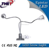 Professional led grow light manufacturer 10W dual head led grow light