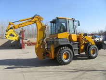 backhoe loader Japan original hyundai backhoe loader