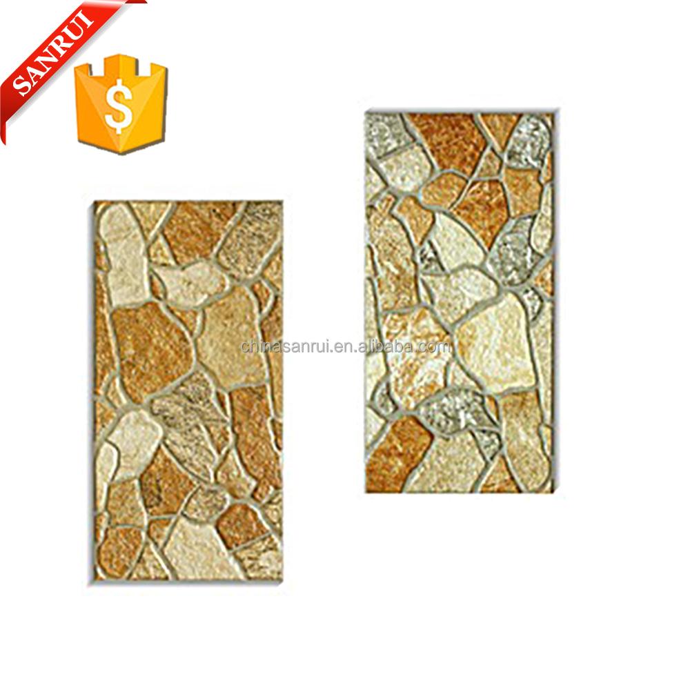 Ceramic exterior wall tiles