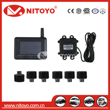 NITOYO TPMS with external sensors for truck.