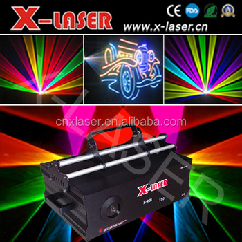 sole design colorful High Power 5W RGB 40K high speed programmable disco laser lights for hottest sale