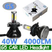 G5 H4 80W G5 CAR LED HEADLIGHT BULB H4 H13 9004 9007 H7 CAR LED conversion beam kit BULB