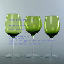 wine glass/2016 green,red,purple,blue,amber solid color wine glass