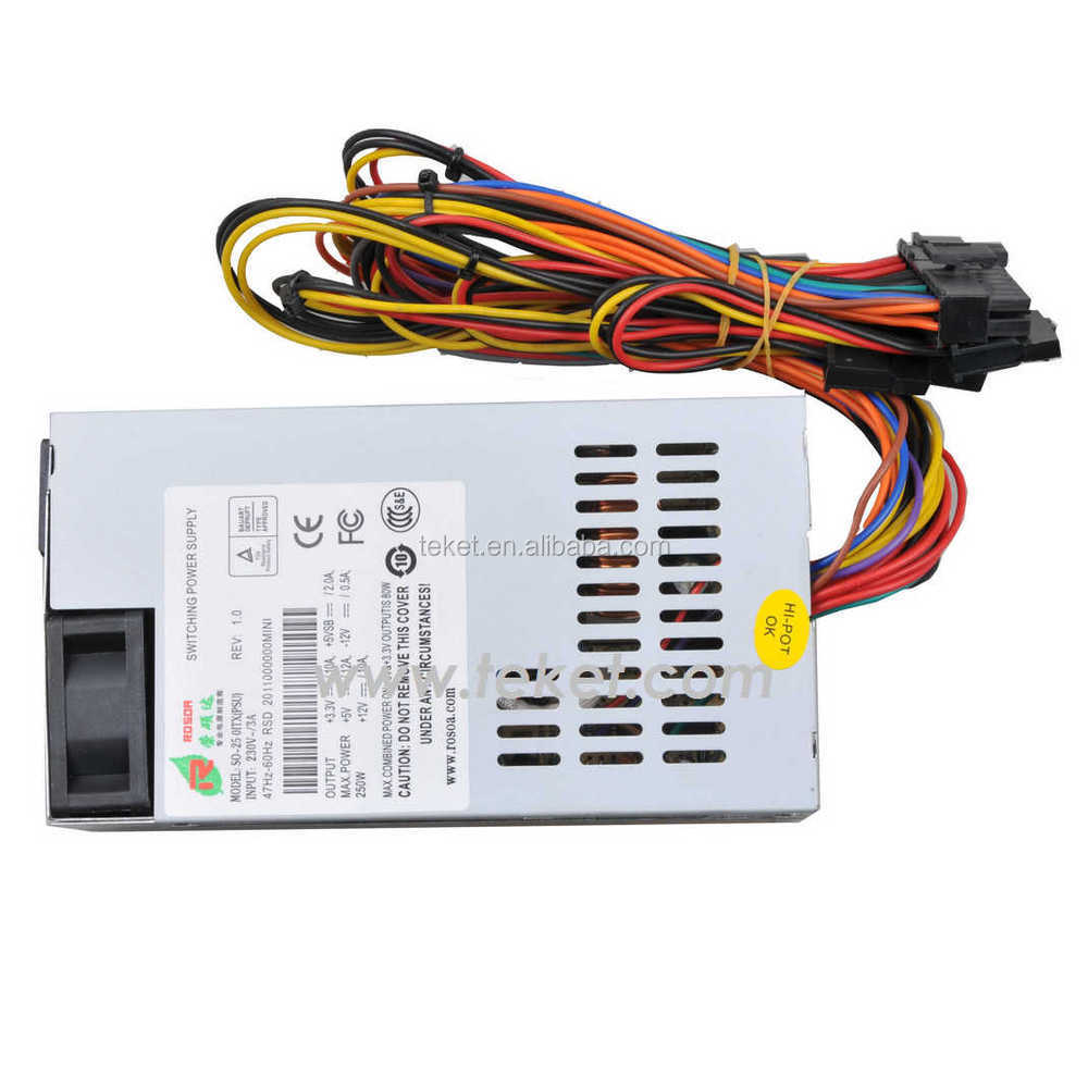 Standard MINI-ITX Power Supply (110VAC/220VAC Input, ATX output)-ATX_W03