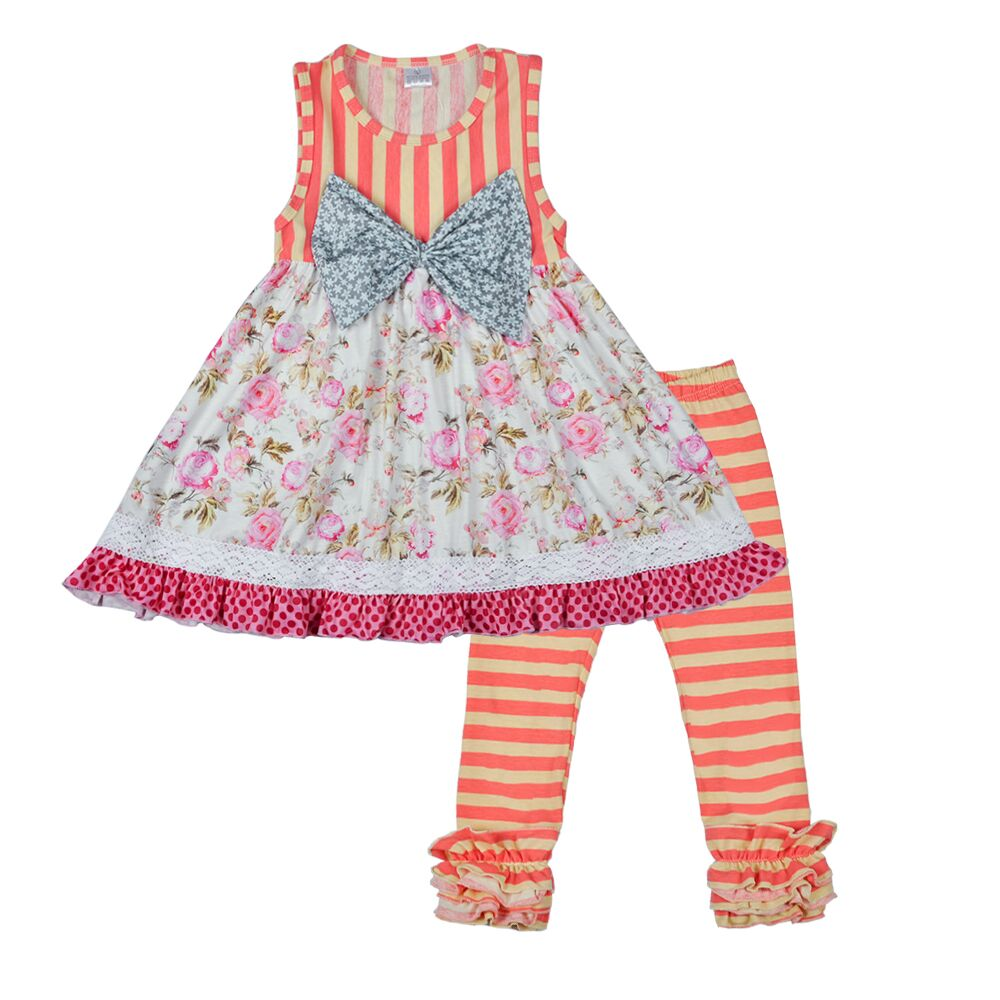 Conice nini brand sweet baby girls button top women wholesale boutique clothing