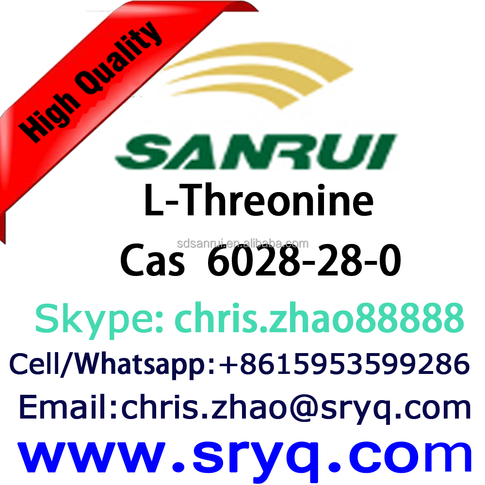 Amino Acid of L-Threonine, High Purity Cas 6028-28-0 L-Threonine