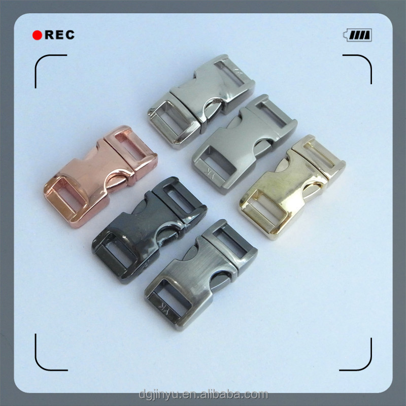 metal buckle/metal side release buckle/quick release buckles metal for webbing