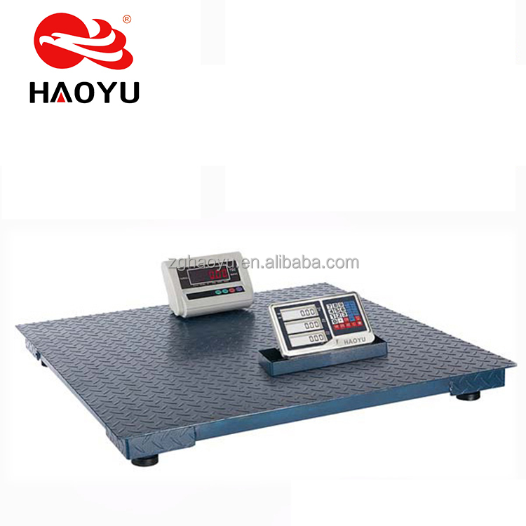 HAOYU FCC US 10t produced floor scale loadometer with wired/wireless indicator