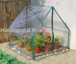 Bastidor de tubo con cubierta de pvc marco fr o palma for Como iniciar un vivero en casa