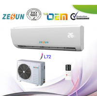 24000 BTU Wall Split DC Inverter Air Conditioner,R410a 220V/60Hz China Portable Mini Wall Split Type Air Cooler Condition