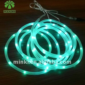 Newest Submersible LED Light Tube String Battery Operated For Pool Decoration