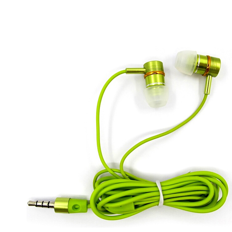 Colorful stereo mp3 mp4 earphone gold plated 3.5mm jack high performance,top selling cool stereo sports earphone