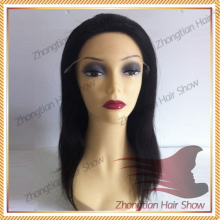 Medical Wig For Cancer Use Silicone Cap Soft Full Lace Wig