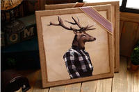 2016 newest deer pictures of wall hangings cool indian picture to print for home decoration