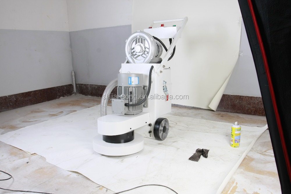 Concrete floor polishing machine with a dust collector for Best vacuum for concrete floors