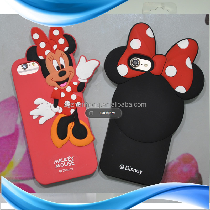 3D animal shape waterproof book case for cell phone