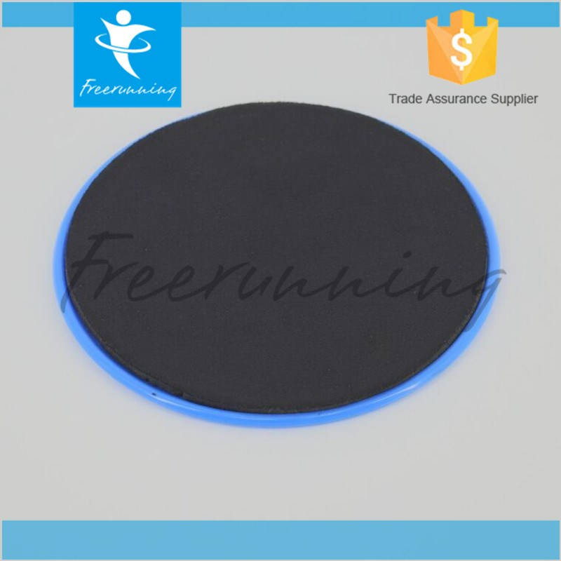 Crossfit Gym Exercise Plastic Circular Gliding Disc