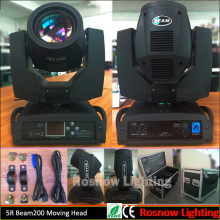 High brightness Sharpy 5R Beam200 Moving Head DJ Stage Lighting