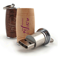 New Gadgets China Beer Bottle Shape 2g Wooden Usb Flash Drive for Promotional Gift