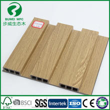 Wood grain pvc film covered decorative interior PVC wall panel
