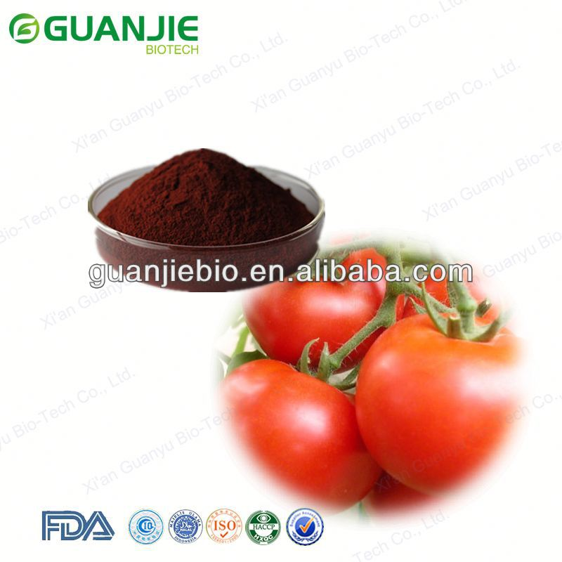 100% natural organic lycopen powder tomato extract