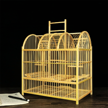 100% natural wholesale outdoor/indoor high quality eco-friendly creative delicate handmade bamboo square bird cage