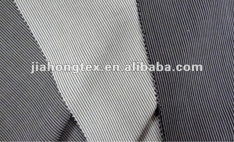 100 cotton black/white stripe fabric