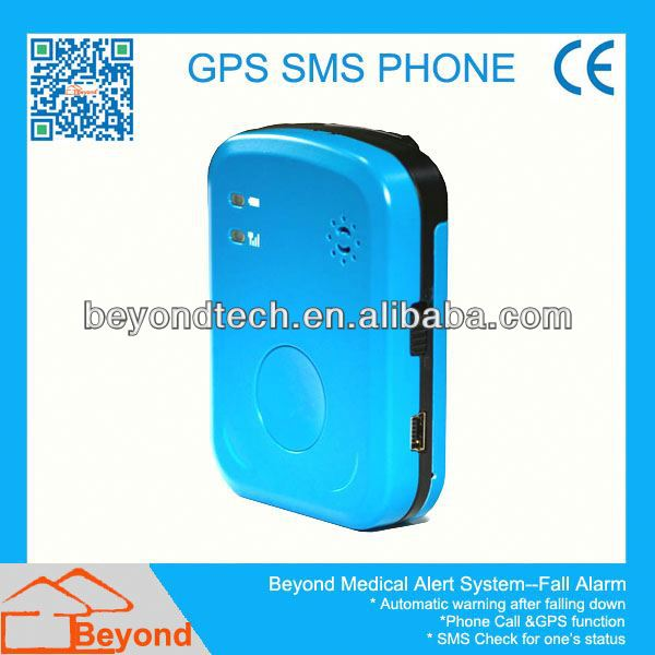 Beyond GSM GPS Elderly Yard Fall Monitor with Auto Falling Down Detection