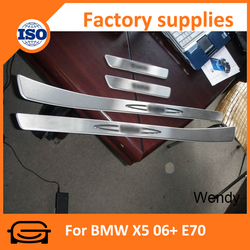 Car door sill guards door sill footstep for BMW X5 06+ E70 door sill guards