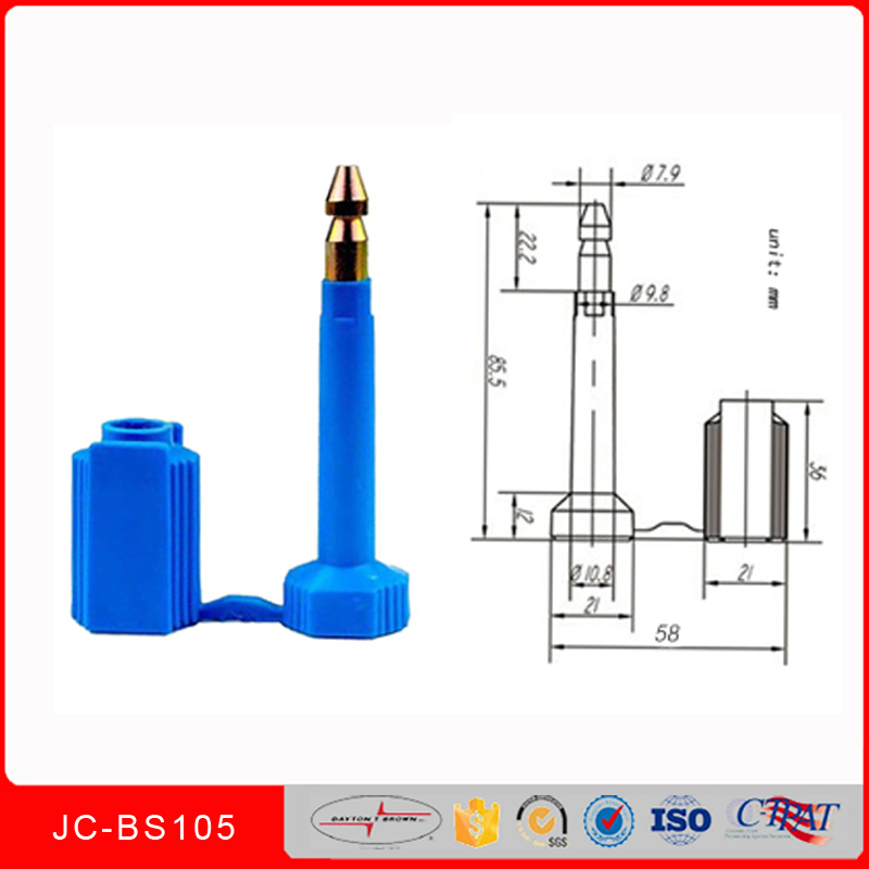 hot sales New products bolt seal JCBS105 disposable locks for containers