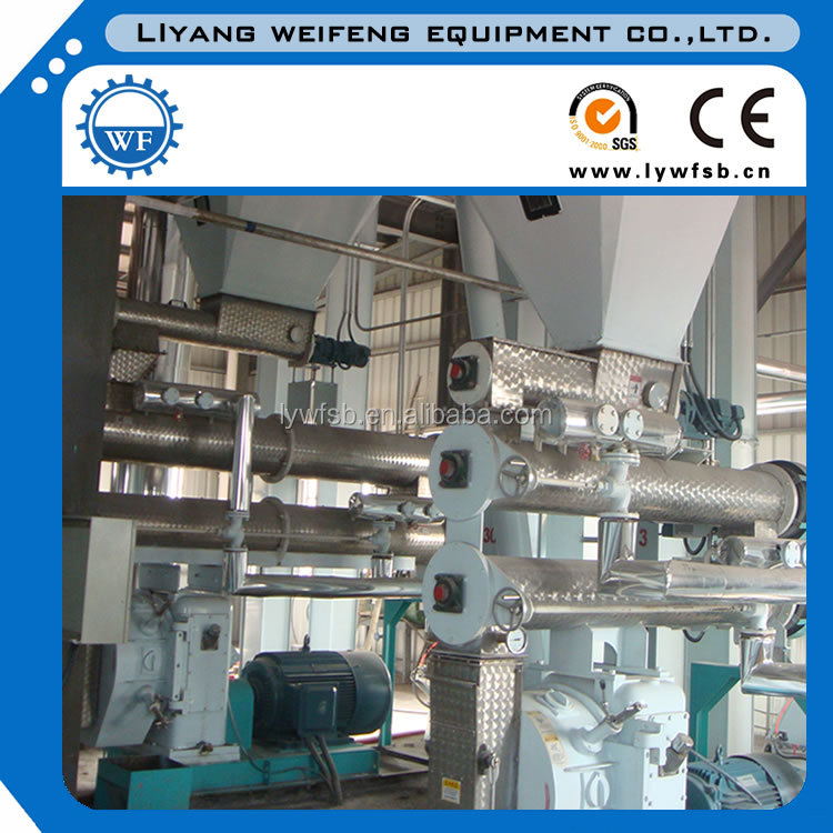 CE 1-30t/h SZLH series ring die stainless steel animal feed pelleting mill machine/pellet making machines