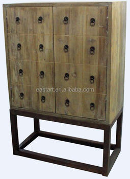 Reclaimed wooden furniture - 2 door cabinet