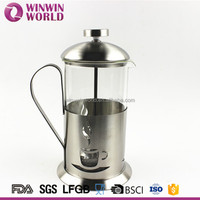 High Quality Classical Stainless Steel Custom Bodum French Press All Coffee Press Maker