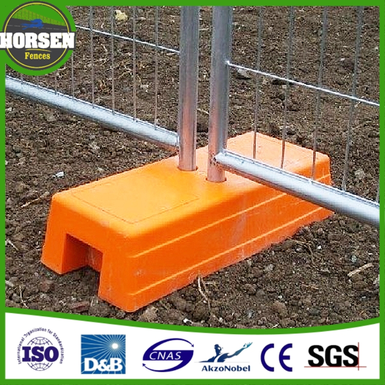 ISO9001 Australia Standard removable hot dipped galvanized metal Construction Site 6ft temporary fencing panels